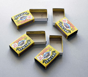 Matchboxes by Roger Perkins