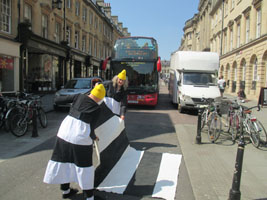 Cally Trench, Ann Rapstoff and Philip Lee: Portable Zebra Crossing Association
