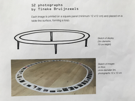 Tineke Bruijnzeels: Making the 'Circle' table